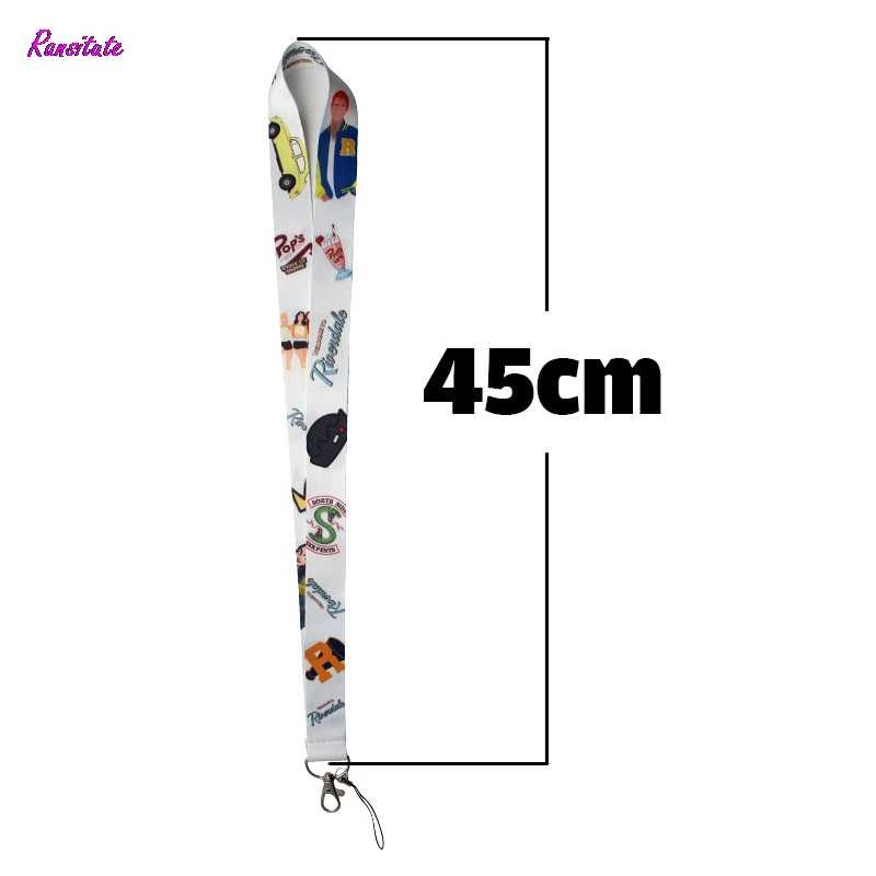 Ransitute Riverdale Mobile Phone Straps Tags Neck Lanyards for keys ID Badge Neck Straps webbing