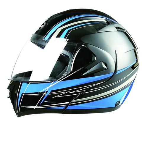 dot new NEW best safe motorcycle helmets dual lens lens flip up motorcycle helmet motocross full face helmet fit for men&women Karachi
