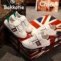 Bakkotie 2017 Nueva Moda Primavera Otoño Bebé Niño Ocasional Paillette Ocio Calzado Deportivo Sneaker Kid Chica Entrenador Rhinestone