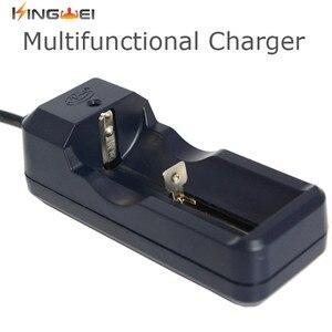 Image 1 - KingWei 1 pièces Rechargeable Chargeur De Batterie Multi pour 26650 18650 18350 14500 16340 10440