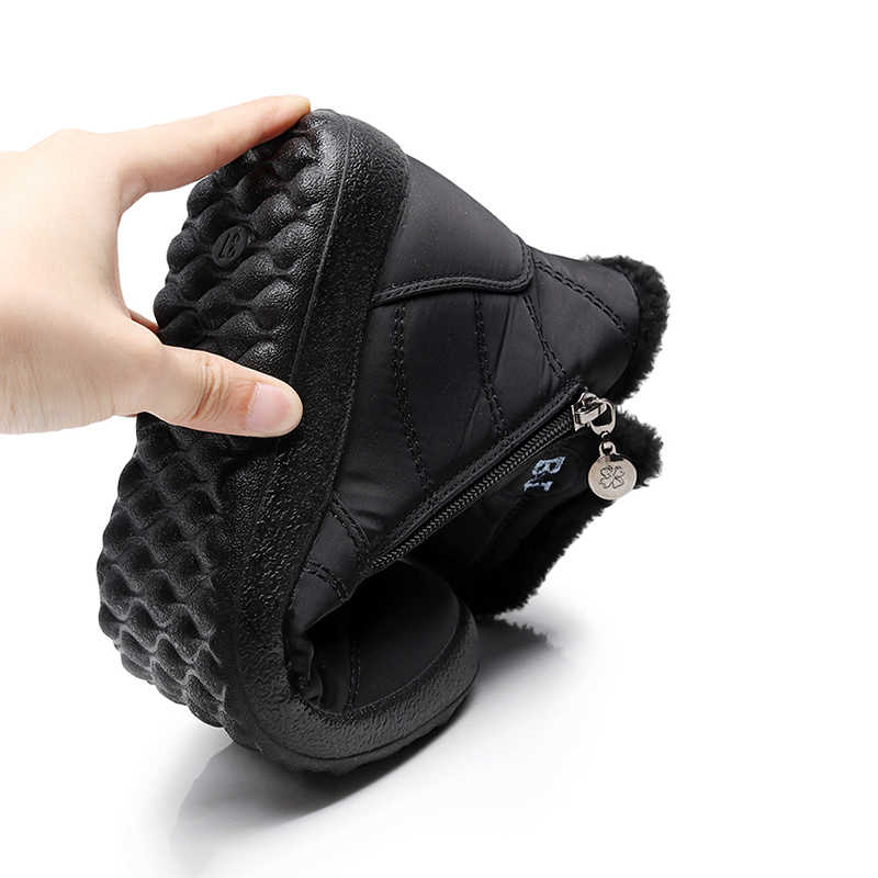 รองเท้าผู้หญิงฤดูหนาวหิมะรองเท้าผู้หญิง PLUS ขนาด 43 รองเท้าข้อเท้ารองเท้าผู้หญิง Super WARM Botas Mujer Booties ฤดูหนาวรองเท้าผู้หญิง