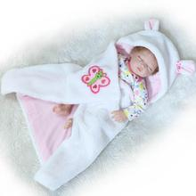 Newest 22Inch 55cm Bebe Reborn Doll Silicone Vinyl Baby Doll Reborn adora chucky Handmade Kids Princess Toys Children bonecas цена в Москве и Питере
