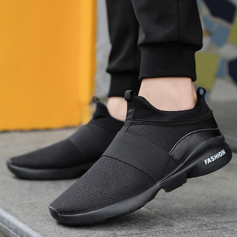 New Models Men Shoes 2018 Fashion Comfortable Youth Casual Shoes for Male Soft Mesh Design HH-466