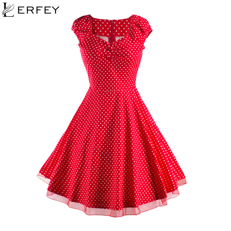 Women Summer Style Dresses Elegant Retro Party Robe Rockabilly 50s Sleeveless Vintage Dress Vestidos Fashion New Womens Clothes