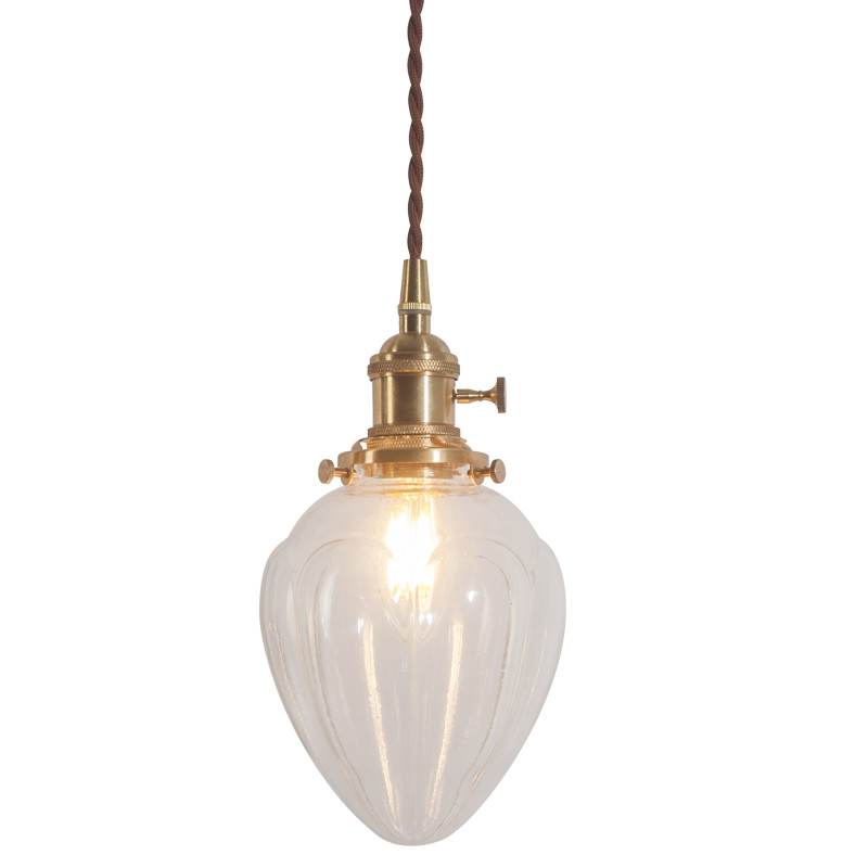 Loft Style Industrial Vintage Pendant Light Copper Heart Shape Glass Hanging Lamp Indoor Lighting Antique Droplight Luminaire one light frosted glass antique rust hanging lantern