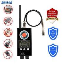 Anti Spy RF Detector Wireless Bug Detector สัญญาณสำหรับกล้องซ่อนเลนส์เลเซอร์ GSM ฟัง Finder อุปกรณ์เรดาร์วิทยุสแกนเนอร์