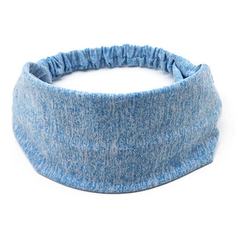 <+>  10шт женская йога резинка для волос спортивная повязка на голову женщины мужчины тюрбан голова резин ★