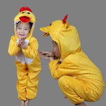 Children Kids Baby Girls Boys Yellow Duck Costumes Clothes Cartoon Animal Performance Childrens Day Costume