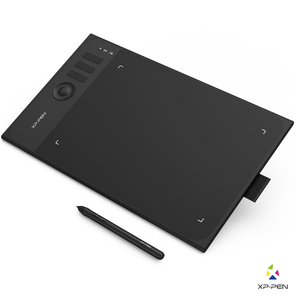 XP-Pen Star06  Graphics Drawing Tablet with 8192 levels Pressure Sensivity both Wired and Wireless Mode Simple Design xp pen star g640 black графический планшет