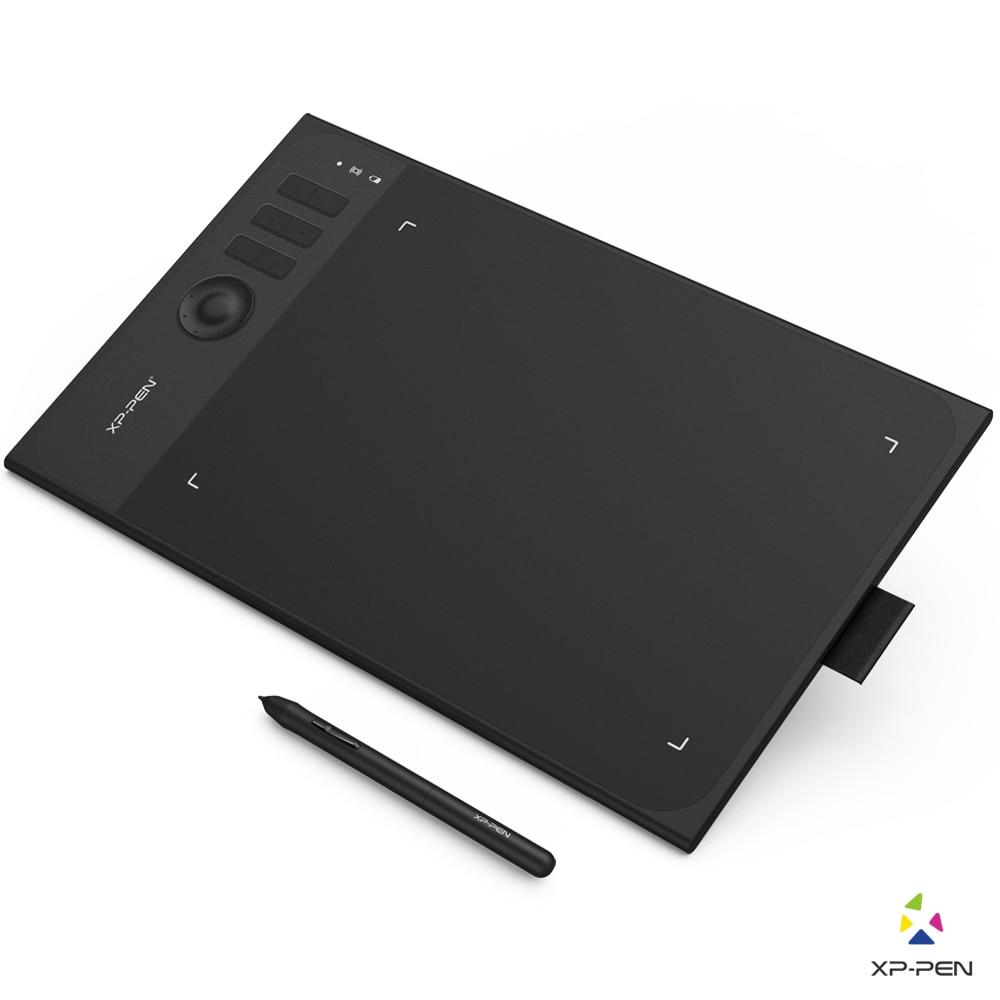 XP-pluma estrella 06 gráficos del dibujo de la tableta con 8192 niveles de presión sensibilidad tanto con cable y modo inalámbrico diseño Simple