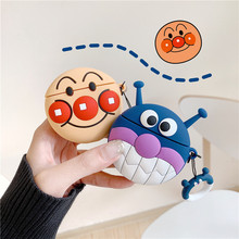 For AirPods 2 Case Cute Cartoon Earphone Apple Airpods Soft Silicone Protect Cover Funda
