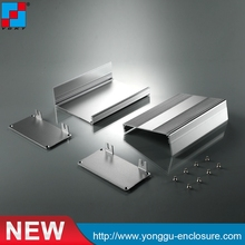 106*54*150mm (WxHxL) 6063 Silver Anodizing Aluminum Alloy Enclosure