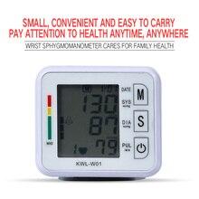 цены на Wrist Blood Pressure Monitor Machine Automatic Tonometr Tensiometro Bp Heart Beat Rate Monitor Wrist Sphygmomanometer pulsometer  в интернет-магазинах