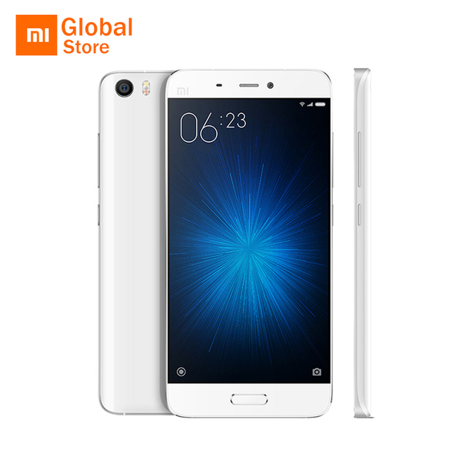 "Xiaomi Mi5 M5 Mi 5 Prime 64GB ROM Mobile Phone Snapdragon 820 5.15"" FHD 16MP Fingerprint ID NFC Official Global ROM Original"