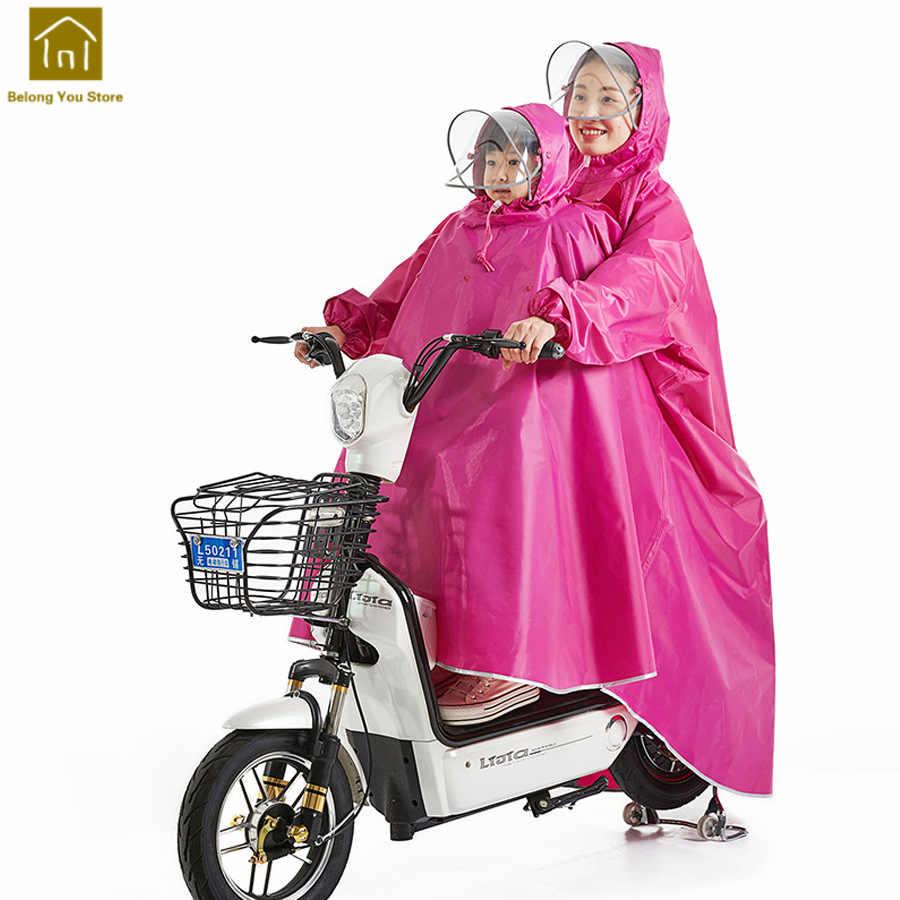 Las mujeres de lluvia Impermeable de los hombres de la motocicleta Impermeable Poncho de lluvia de las mujeres Impermeable moto Pluie Regen, Poncho de las mujeres WKR152