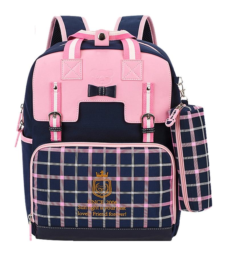 Cute Girls Backpacks Kids Children School Bags For Girls Boys Orthopedic Waterproof Backpack Child School Bag Mochila Escolar