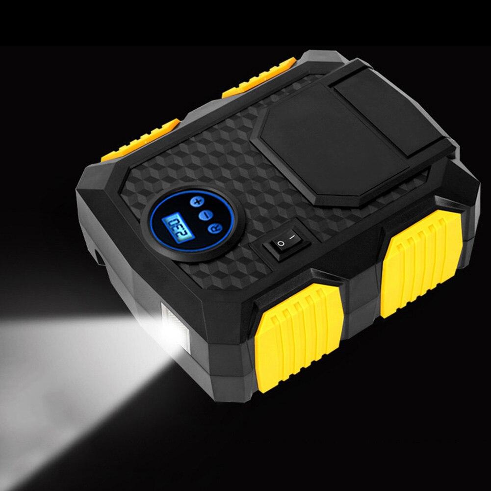 Pompe de gonflage de pneu numérique DC 12 V compresseur d'air électrique Portable rapide pour voiture SUV XR657