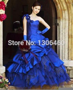 Search On Aliexpress Com By Image Poprawiny Beautiful Royal Blue Wedding Dresses