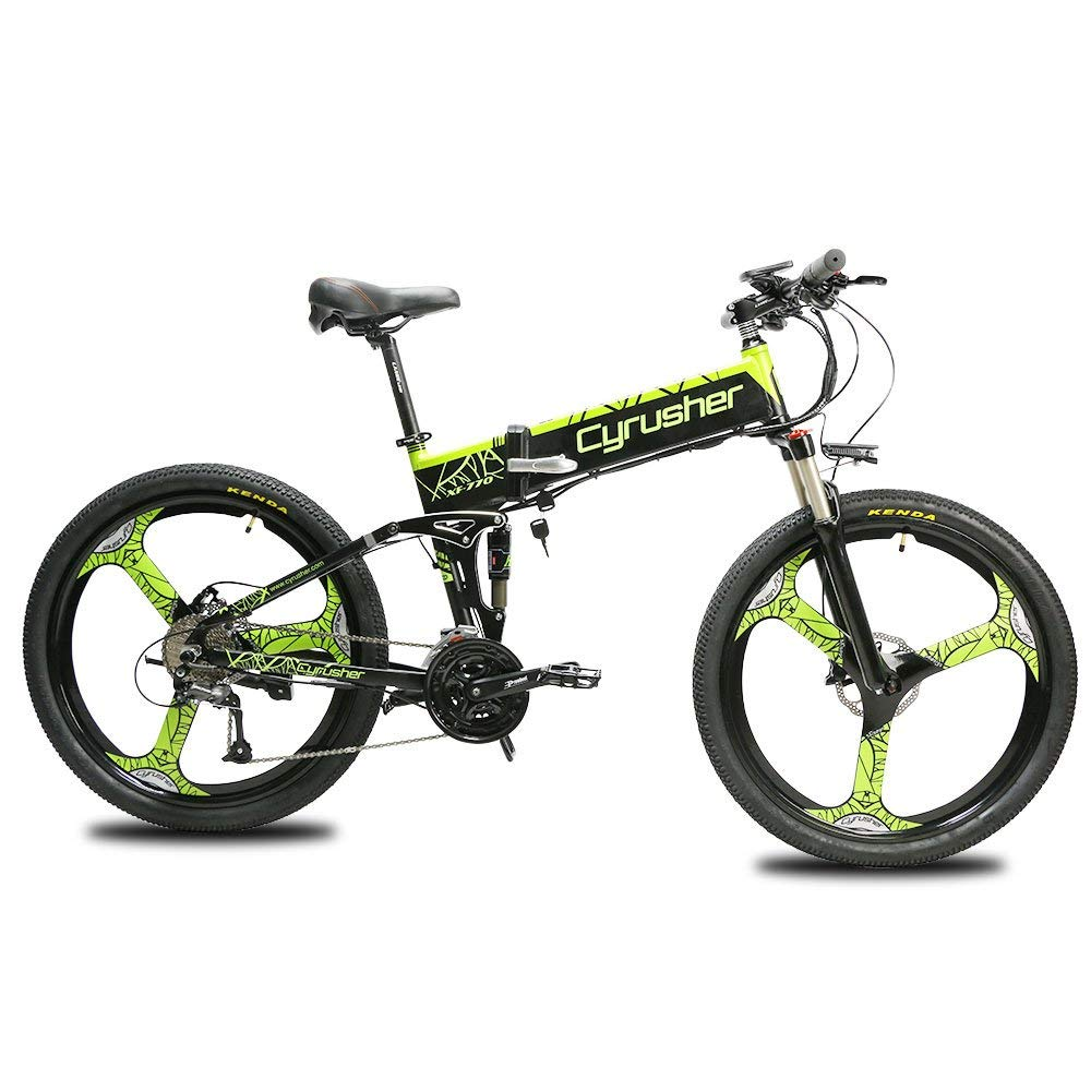 Cyrusher XF770 27 Speeds Full Suspension Mountain Folding
