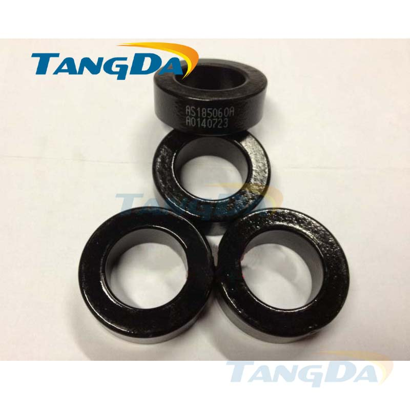 Tangda sendust FeSiAl toroidal cores inductor OD*ID*HT 48*28*16 mm AL: 86nH/N2 Ue: 60 AS185060A CS468060 77090-A7