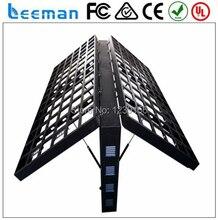 Leeman Sinoela P10 полноцветный открытый двухсторонний из светодиодов света / рекламный щит для рекламы, двойной цвет из светодиодов табло
