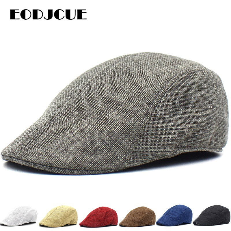 2019 Mens Womens Hat Golf Driving Beret Cabbie Hat Newsboy Hat Flat Ivy Hat Summer Sun Cap Gorras
