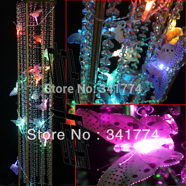 Fairy led string lights curtain christmas garland lights battery fairy led string lights curtain christmas garland lights battery butterfly lamp chandelier for home garden wedding outdoor decor in led string from lights aloadofball Image collections
