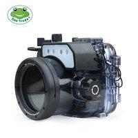 Бесплатная доставка DHL seafrogs 60 м/195ft подводный Камера Водонепроницаемый Корпус чехол для Sony RX100/RX100 II/ RX100 III/RX100 IV/RX100 V