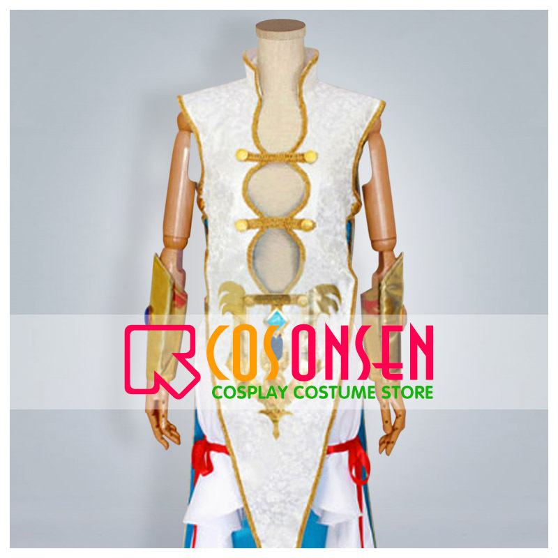 COSPLAYONSEN Magi The Labyrinth of Magic Kouha Ren Cosplay Costume With Hat All Size Custom Made