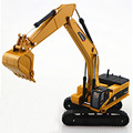 1:50 Alloy Crawler Excavators Forklift Engineering Vehicle Model Children's Favorite Toy Gift Souptoys