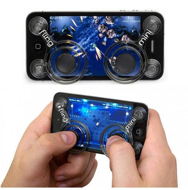 Joystick for iphone 4 for ipad fling for iphone5 game controller for samsung S3 I9300 free shipping
