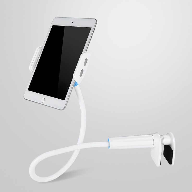 flexible rotating long arm lazy phone and tablet holder for home and office