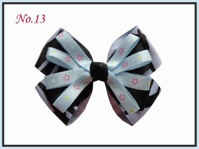 Ferr! Новая модная Высококачественная лента с бантом для волос/аксессуары для волос/ 60 шт