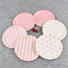 Одноразовая одноразовая бумажная посуда для торта посуда для закусок блюдо 100/набор пищи набор одноразовой посуды кухонные принадлежности