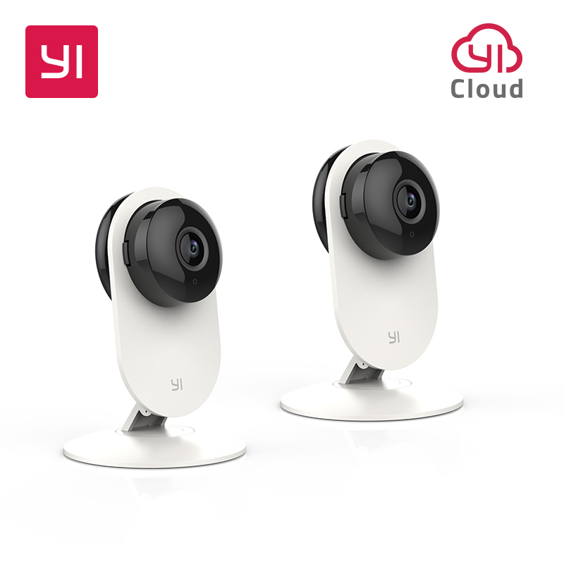 все цены на YI 720P Home Camera 2pcs WIFI Night Vision Video Monitor IP/Wireless Network Surveillance Security International Version Cloud