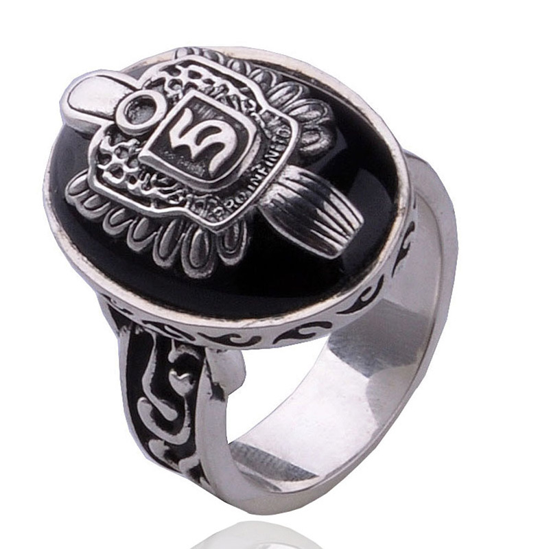 The Vampire Diaries Damon D Salvatore Stefan S Black Onyx 925sterling Ring With Blue Lapis Pure Silver Ring Free Shipping the vampire diaries caroline ring 925 sterling ring pure silver caroline ring women s jewelry lapis lazuli stone