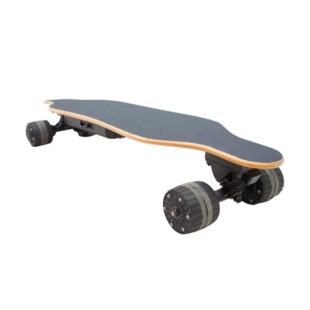 Scooters 4 Four Wheels Electric Skateboard Electric Longboard Single Motor with 4400mAh Lithium Battery Wholesale Hot daibot electric scooters adults two wheel electric scooters samsung lithium battery 24v folding electric skateboard scooter