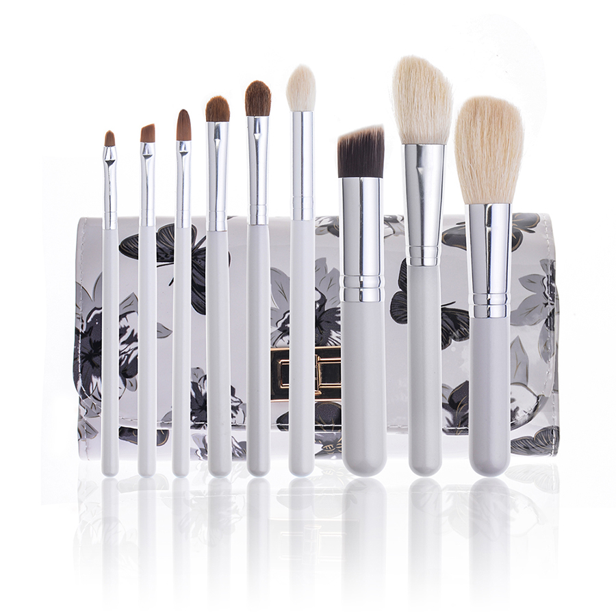 9 pcs Persian Wool Portable Professional Makeup Brushes Set High Quality Makeup Tools Kit pincel maquiagem