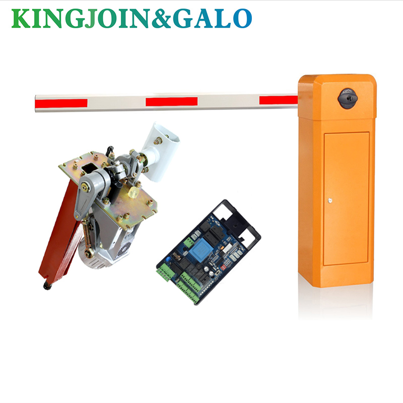 Community Access Garage Gates Smart Parking Management Barrier Gate System, Optional Loop Or UHF Accessories