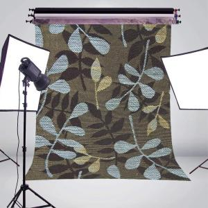 Image 3 - Blue Brown Pattern Photography Background Print Cloth Photo Backdrops Photo Studio Props 5x7ft Wall Photography Background