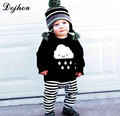 New Kids Sweaters Knit T shirt for Boy Baby Girl Boy Sweater Children Clothes Baby Rain Clouds knitted Sweater T776