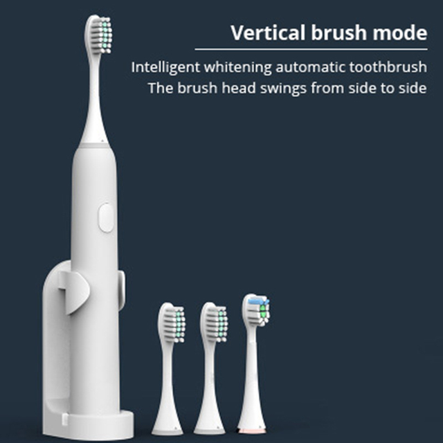Electric toothbrush Vertical brush ultrasonic lazy adult electric toothbrush teeth cleaner oral cleaner
