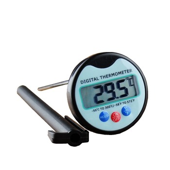 Mixing food processing barbecue thermometer with probe, soil baking digital hygrometer, household thermometer