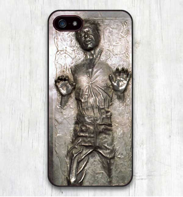 low priced 1a5f9 9d550 US $1.09 39% OFF|Star Wars R2D2 Han Solo Frozen in Carbonite Cool Print  Hard Cases Cover for iphone SE 4 4S 5 5S 5C 6 6S 6Plus 7 7Plus X 8 8Plus-in  ...