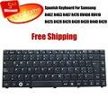 100% новое испанский клавиатура для Samsung R462 R463 R467 R470 RV408 RV410 R425 R428 R429 R430 R439 R440 R420 cuaderno teclado