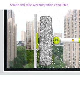 Image 5 - Gorący ulepszony teleskopowy wieżowiec do czyszczenia okien środek do czyszczenia szkła szczotka do mycia okien szczotka do kurzu narzędzia do czyszczenia do domu