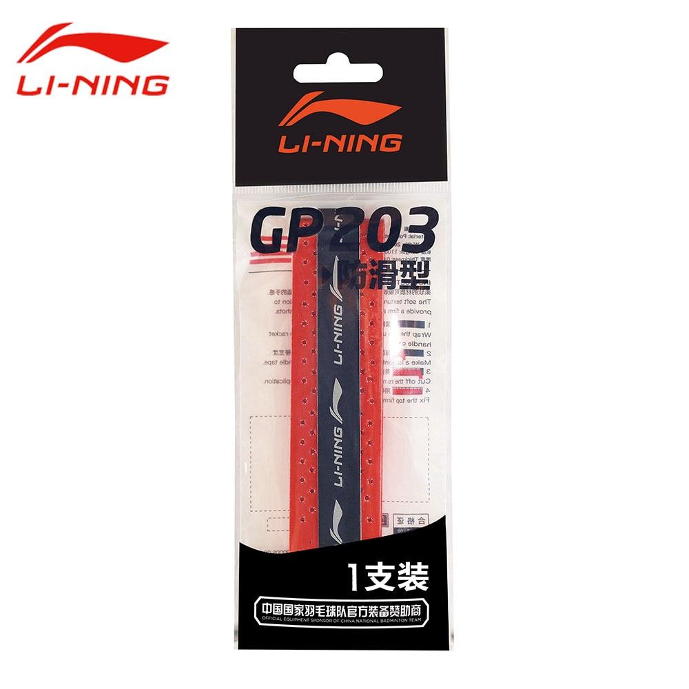 Li-Ning gp203 скольжению Бадминтон спортивные за захват 1 шт. Li Ning прочный абсорбент Бадминтон ракетки Sweatband axjk002