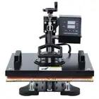 8 in 1 warmte persmachine sublimatie machine warmte overdracht machine voor T Shirt mok hoed plaat cap 12x15 inch - 3