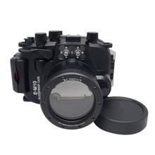 2016สินค้าใหม่สำหรับolympus em10 e-m10 12-40มิลลิเมตรlen meikonกันน้ำใต้น้ำที่อยู่อาศัยกล้องกรณีดำน้ำ
