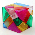 Ninja 3x3x3 Transparent Ghost Cube Skewb Magic Cubes Speed Puzzle Educational Toys For Kids Children